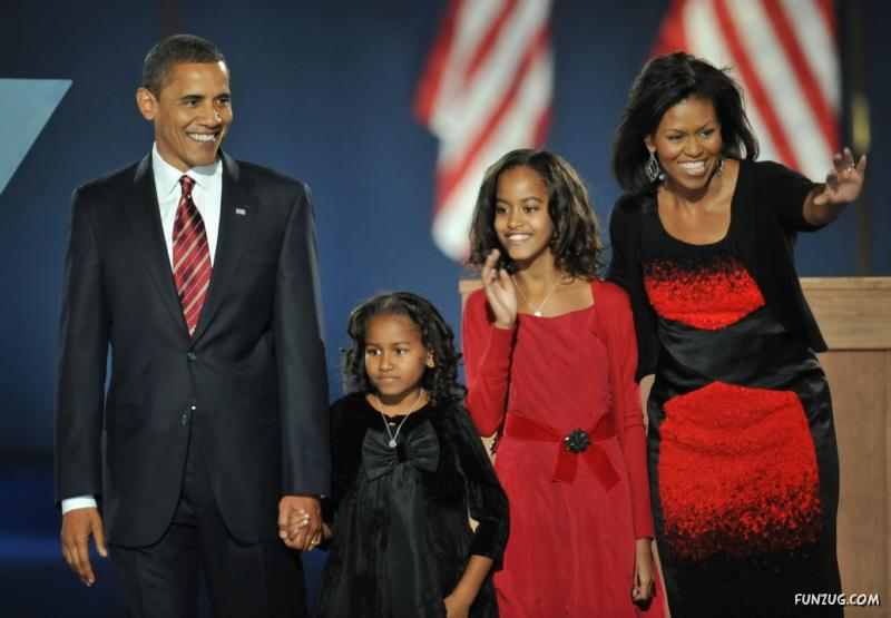 time flies the obama family at the beginning of obamas