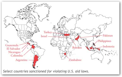 US Military Aid To Israel Is Illegal Due To Horrendous Israeli War - Us military allies map